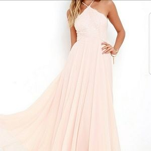 Lulu Blush maxi dress x-small
